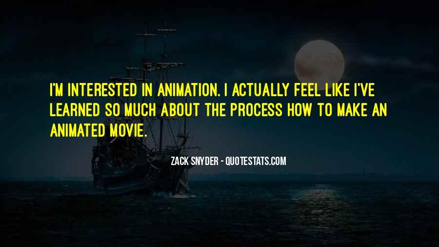 Zack Snyder Quotes #55520