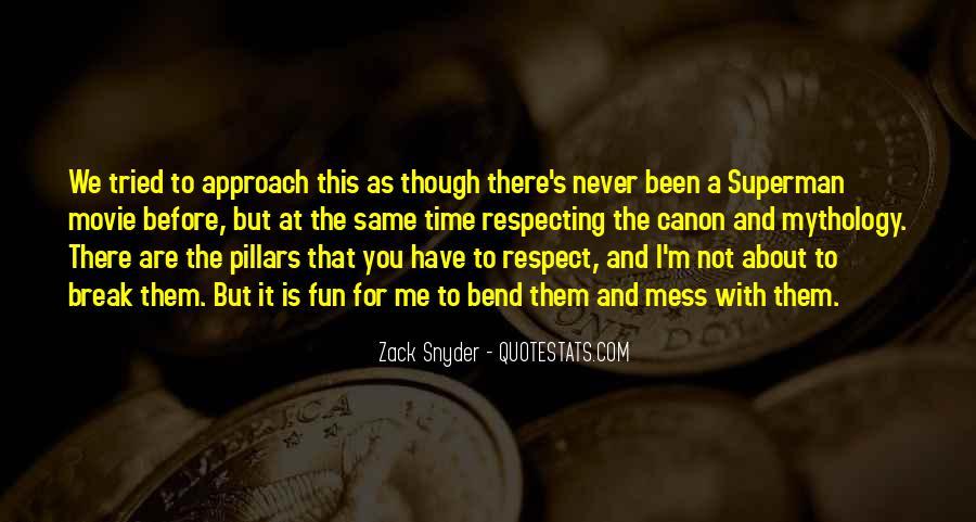 Zack Snyder Quotes #590570