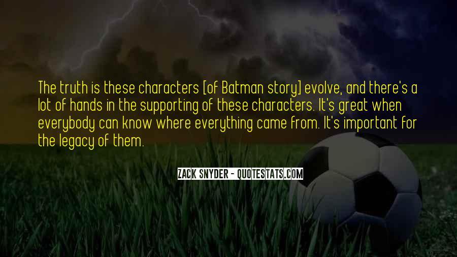 Zack Snyder Quotes #692024