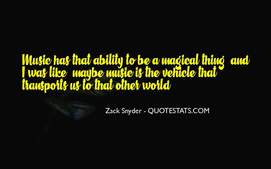 Zack Snyder Quotes #739476
