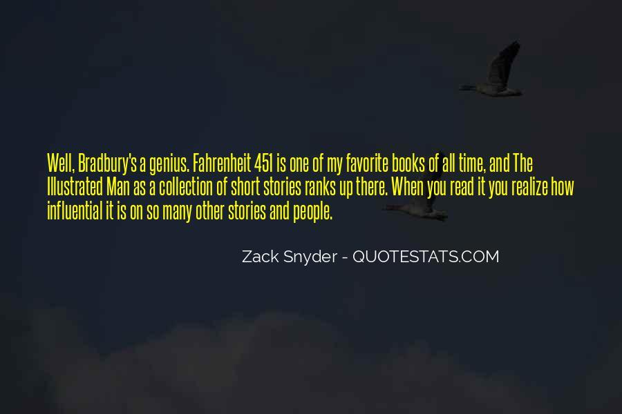 Zack Snyder Quotes #79440