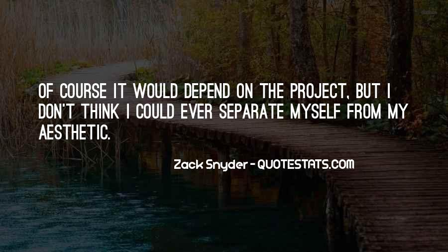 Zack Snyder Quotes #887935
