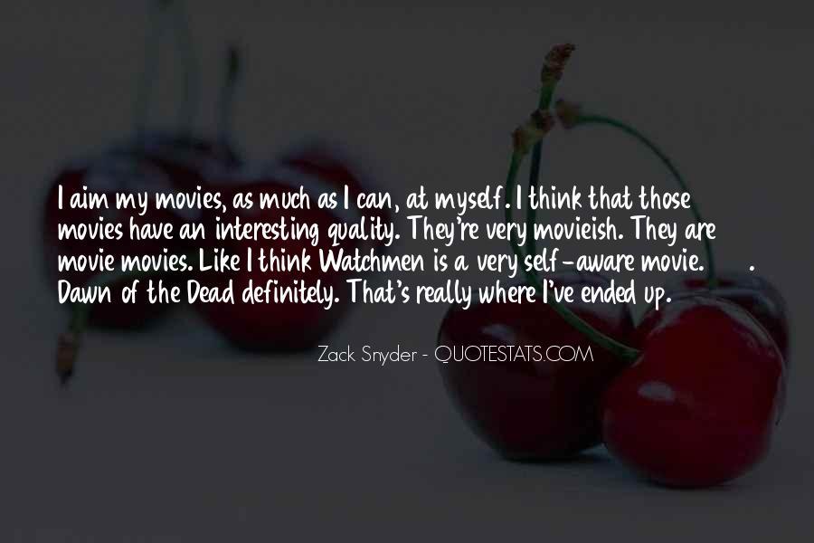 Zack Snyder Quotes #906445