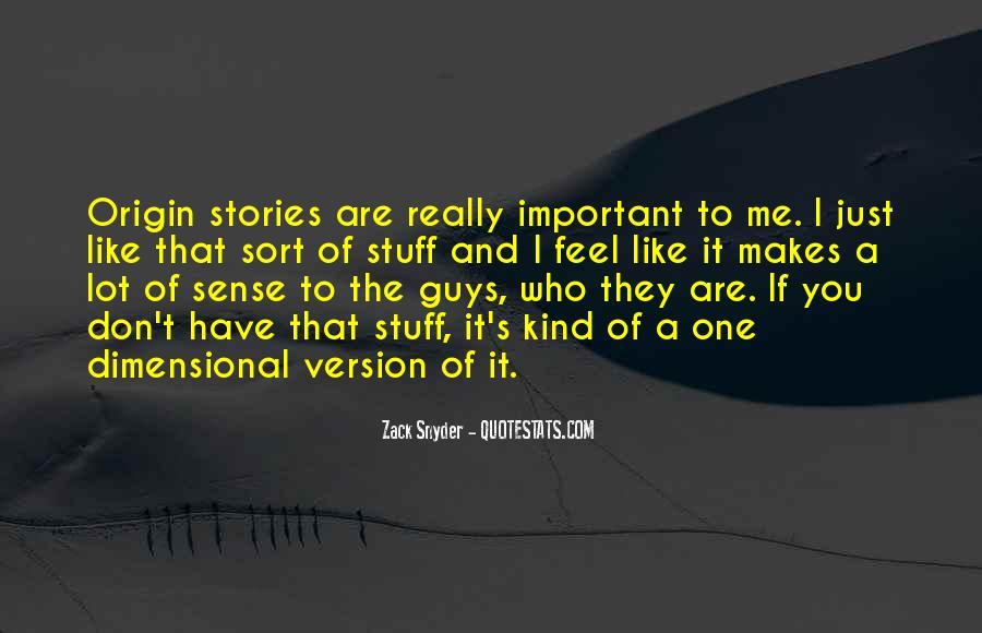 Zack Snyder Quotes #912406