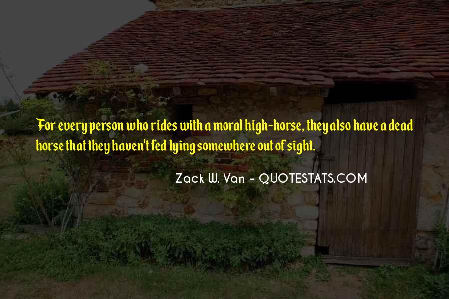 Zack W. Van Quotes #54337