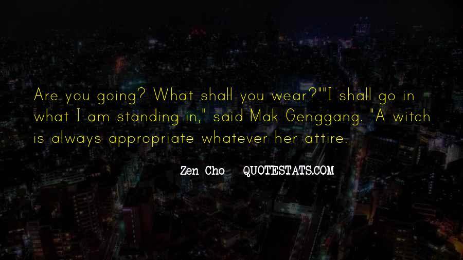 Zen Cho Quotes #1515984