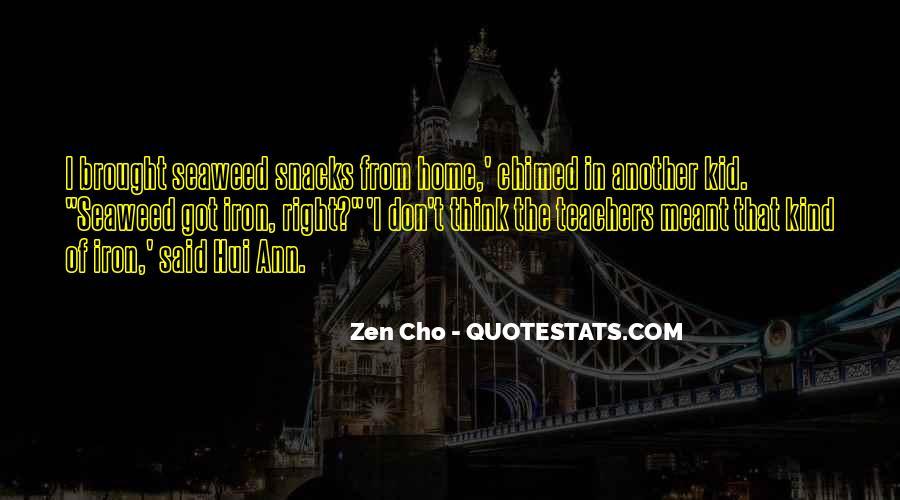 Zen Cho Quotes #823698