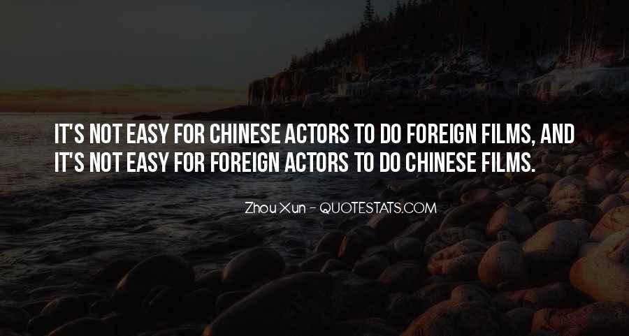 Zhou Xun Quotes #1516684