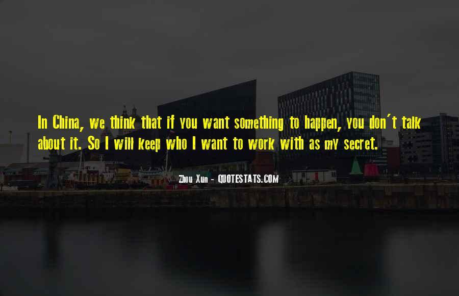 Zhou Xun Quotes #1816777