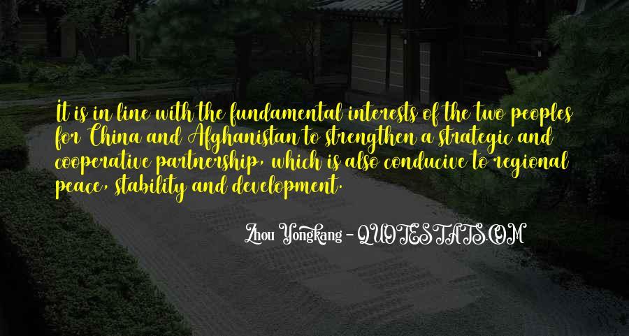Zhou Yongkang Quotes #30118