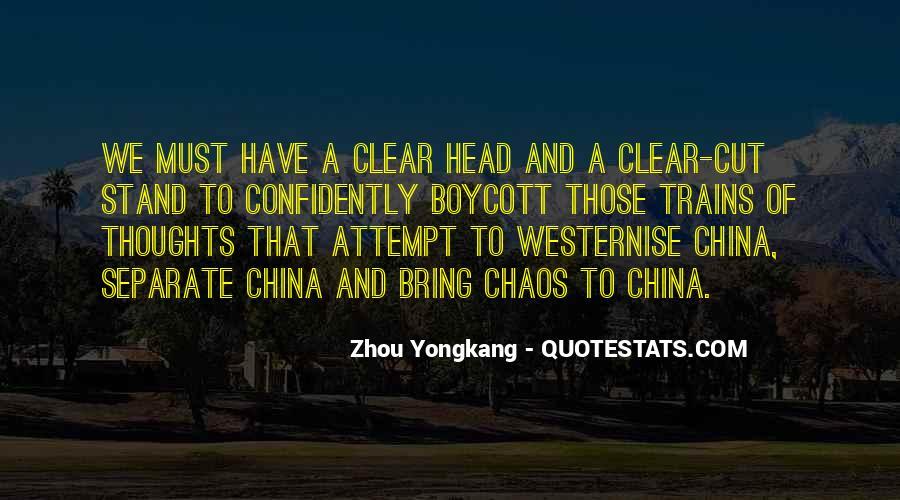 Zhou Yongkang Quotes #96402