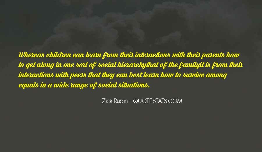 Zick Rubin Quotes #1245400