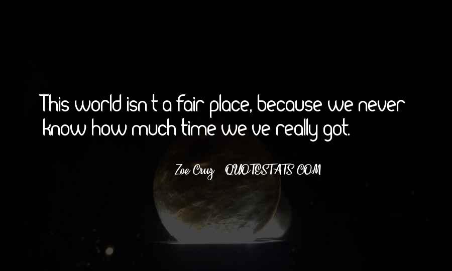 Zoe Cruz Quotes #193487