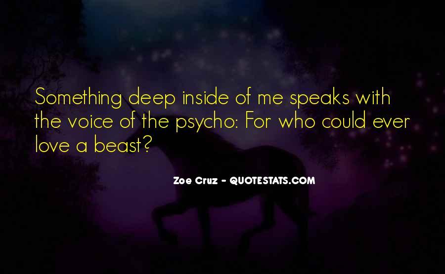 Zoe Cruz Quotes #325264
