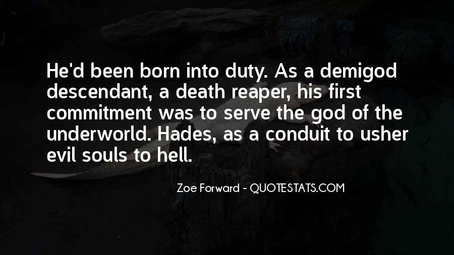 Zoe Forward Quotes #1693932