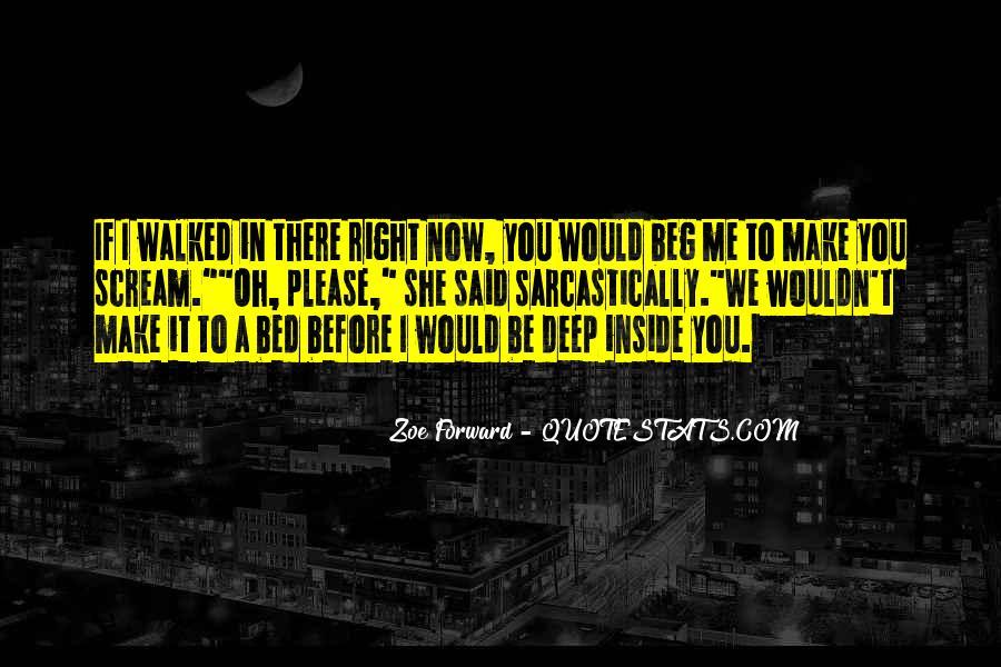 Zoe Forward Quotes #396837