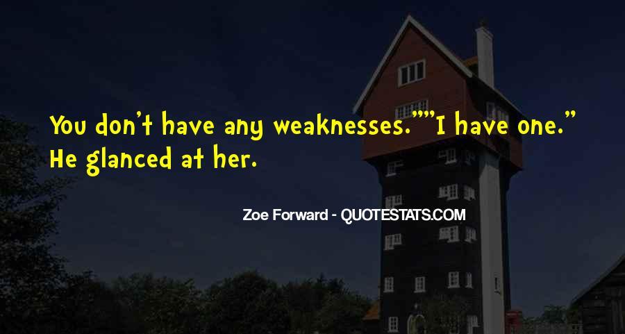 Zoe Forward Quotes #481061