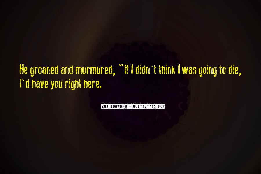 Zoe Forward Quotes #746015
