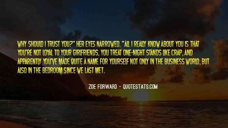 Zoe Forward Quotes #891701