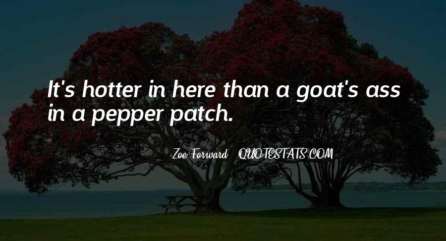 Zoe Forward Quotes #961420