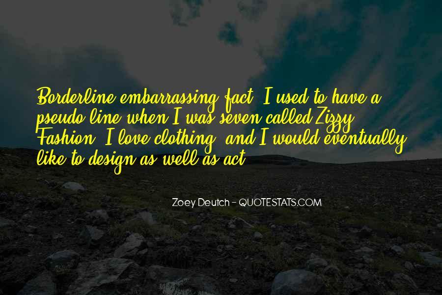 Zoey Deutch Quotes #1564256