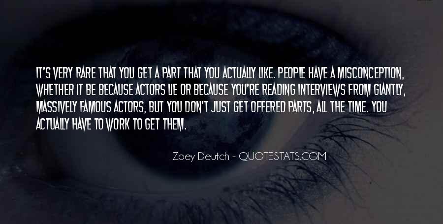 Zoey Deutch Quotes #1638055