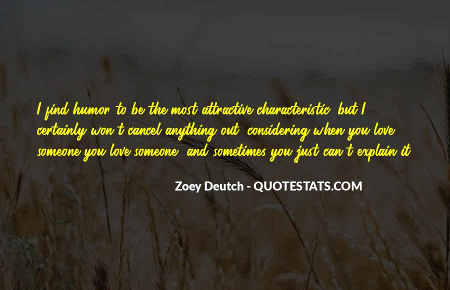 Zoey Deutch Quotes #1699180