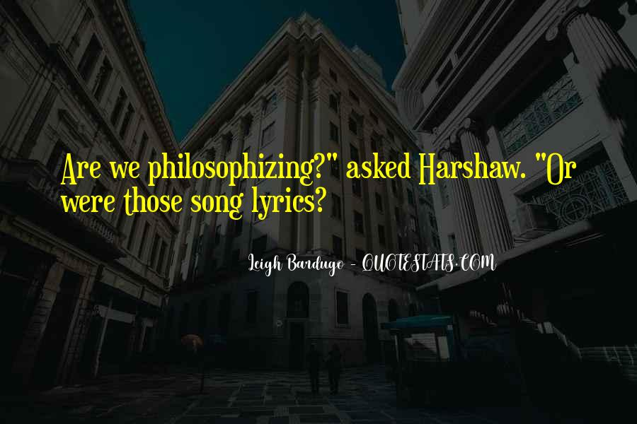 Harshaw Quotes #887853