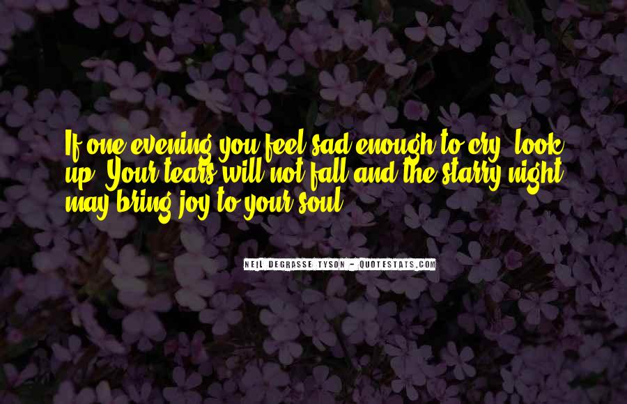 Quotes About Evening #1503