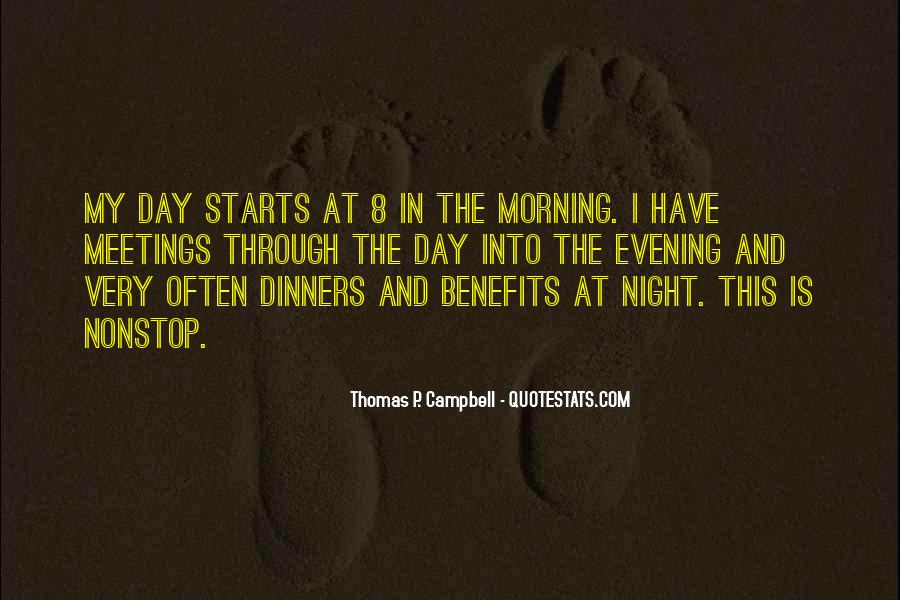 Quotes About Evening #20453