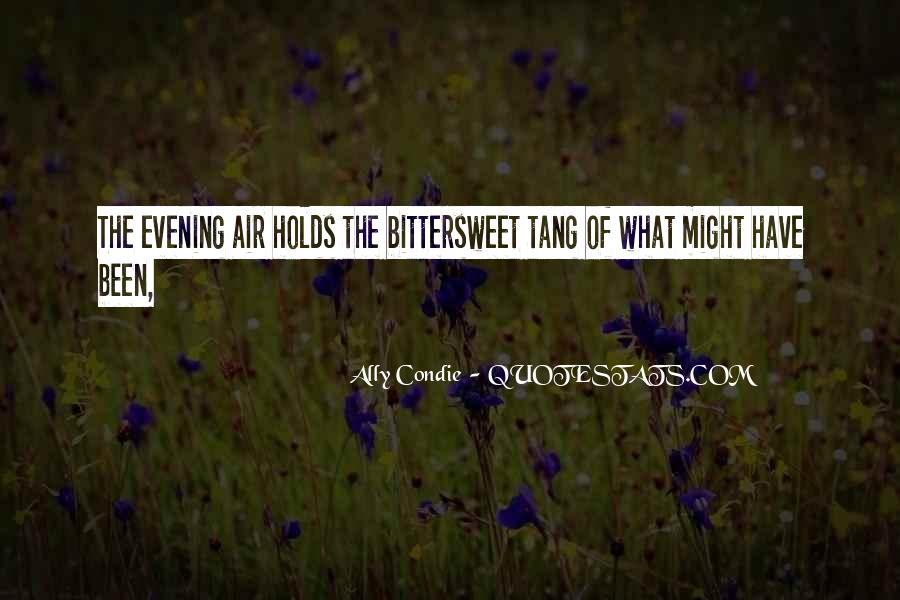 Quotes About Evening #31152