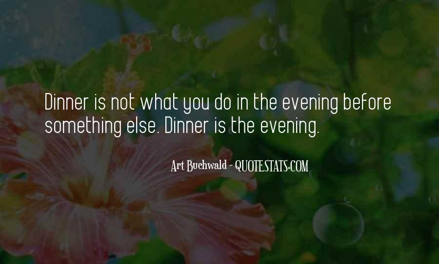Quotes About Evening #55952