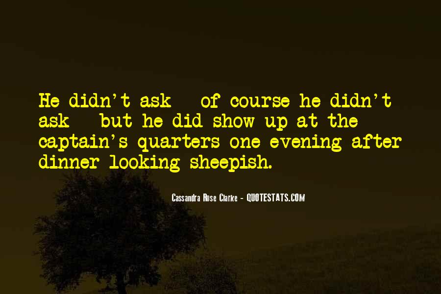 Quotes About Evening #80371