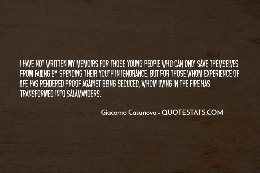 Quotes About Living Young #335297