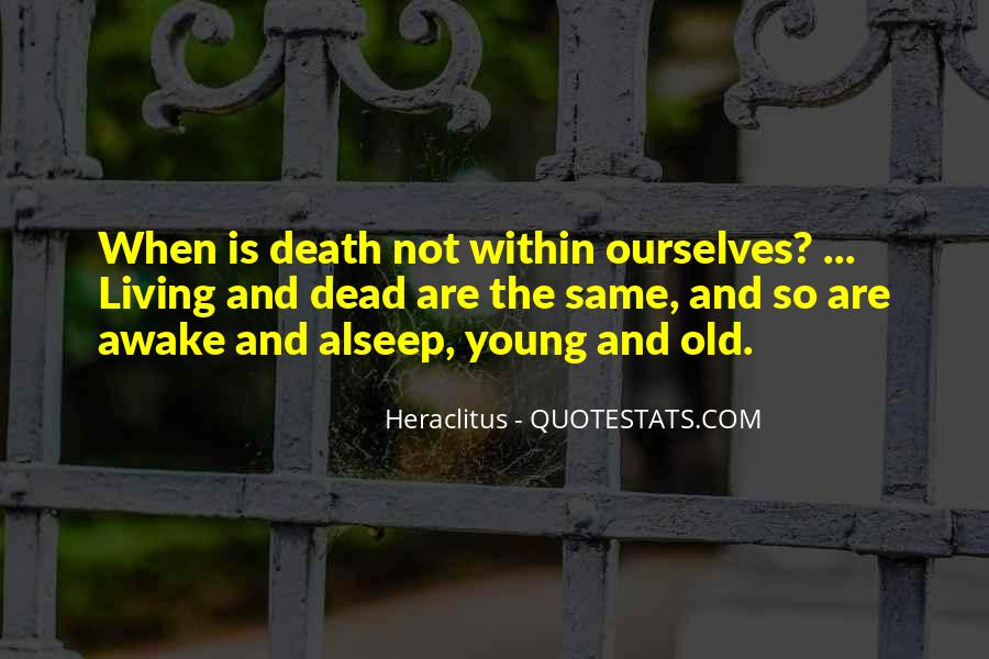 Quotes About Living Young #515482
