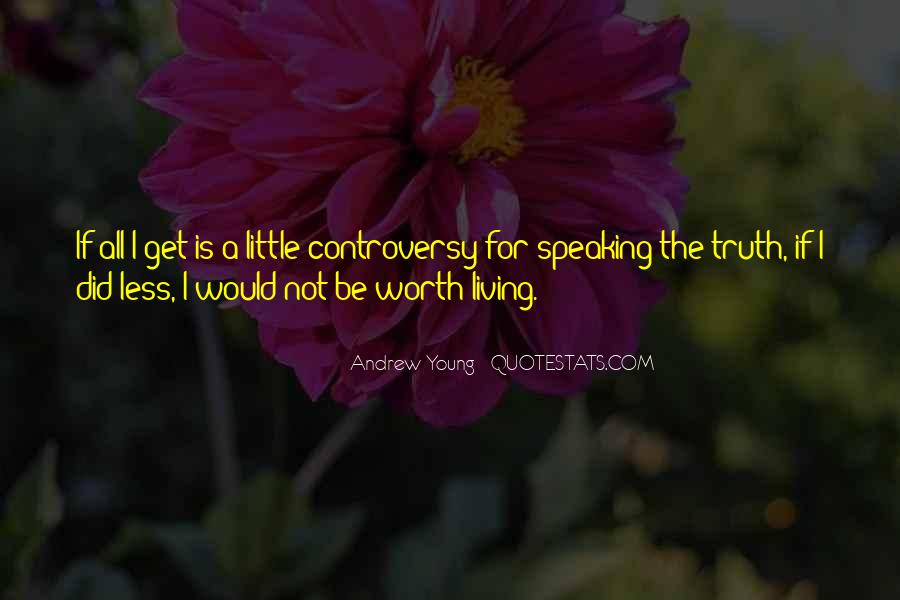 Quotes About Living Young #766578