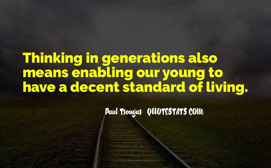 Quotes About Living Young #770484