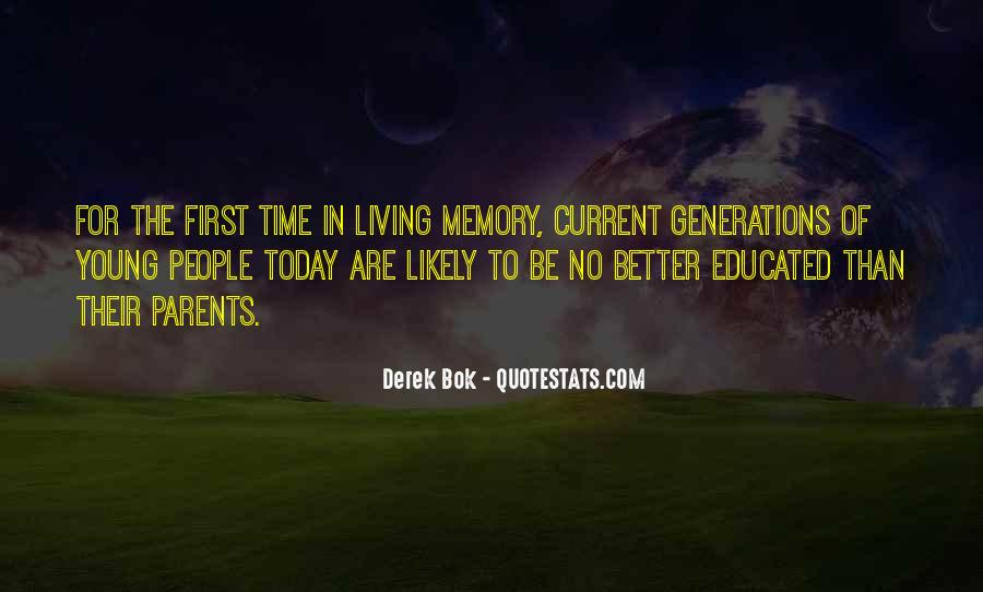 Quotes About Living Young #786344