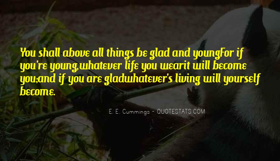 Quotes About Living Young #791552