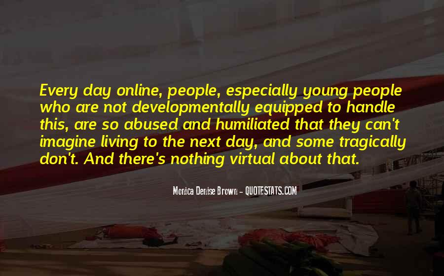 Quotes About Living Young #827844