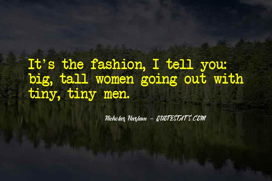 Haslam Quotes #113072