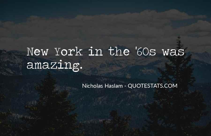 Haslam Quotes #1326219