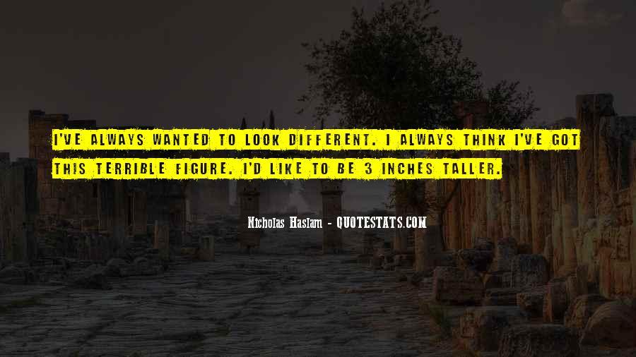 Haslam Quotes #1385772