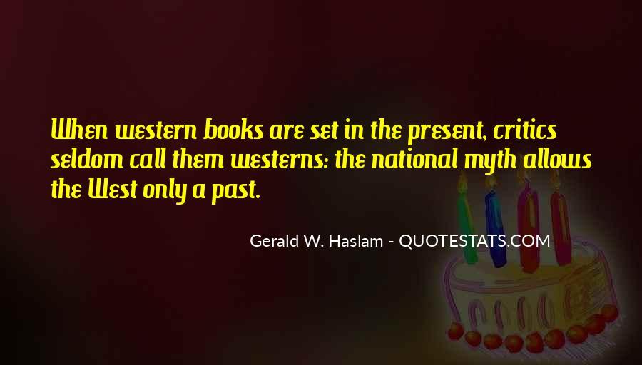 Haslam Quotes #34962