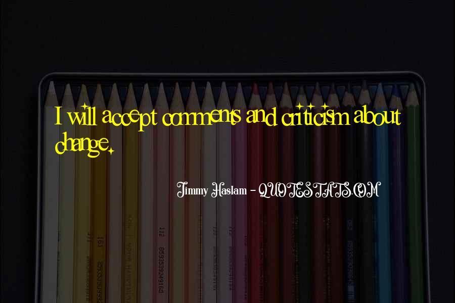 Haslam Quotes #497240