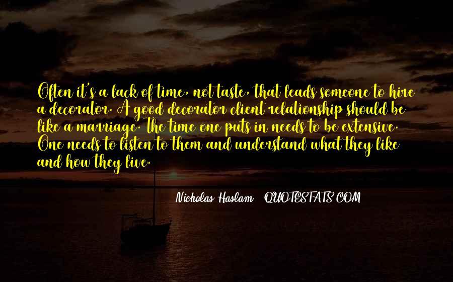 Haslam Quotes #560760