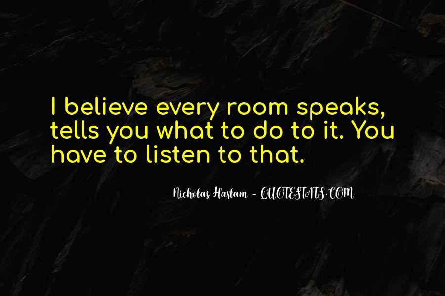 Haslam Quotes #883232
