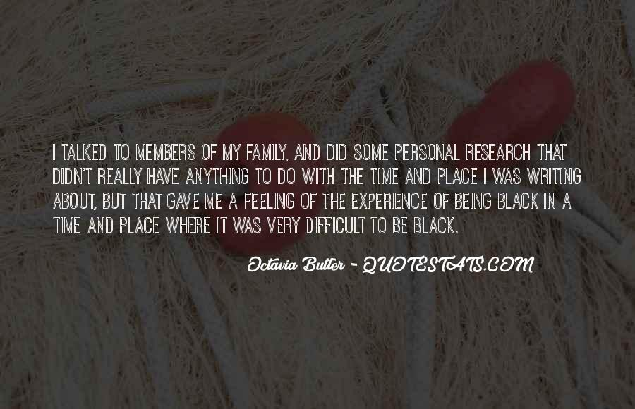 Quotes About Difficult Family #11909