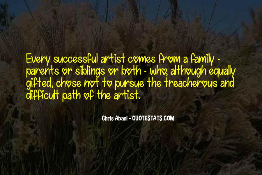 Quotes About Difficult Family #1312492