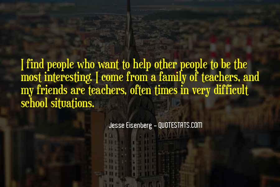 Quotes About Difficult Family #1347926